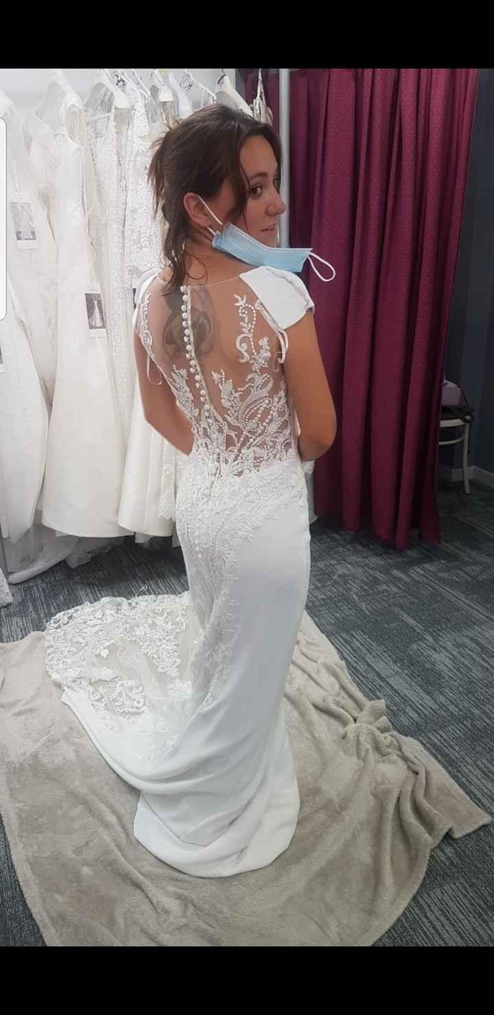 Essayage robe de mariée 4