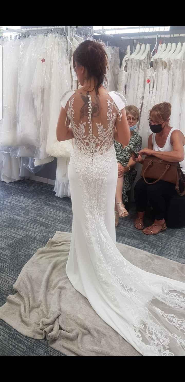 Essayage robe de mariée 5