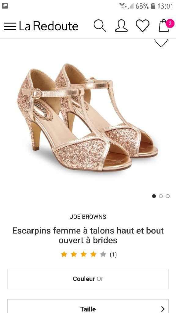 Chaussures Robe de Mariée - 2