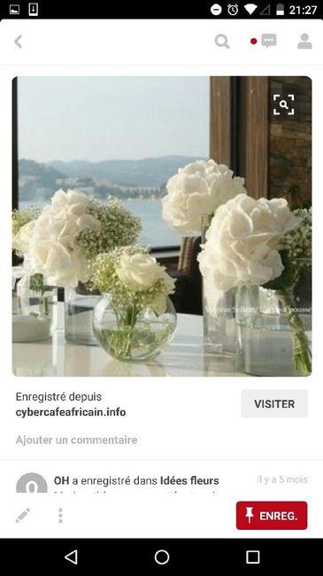 quel est votre budget fleurs et comment sont vos centres de table 5 photo avant le mariage. Black Bedroom Furniture Sets. Home Design Ideas