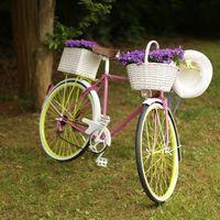 vélo déco extérieure