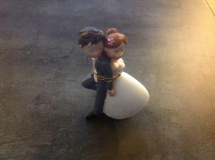 Figurine pour pièce montée