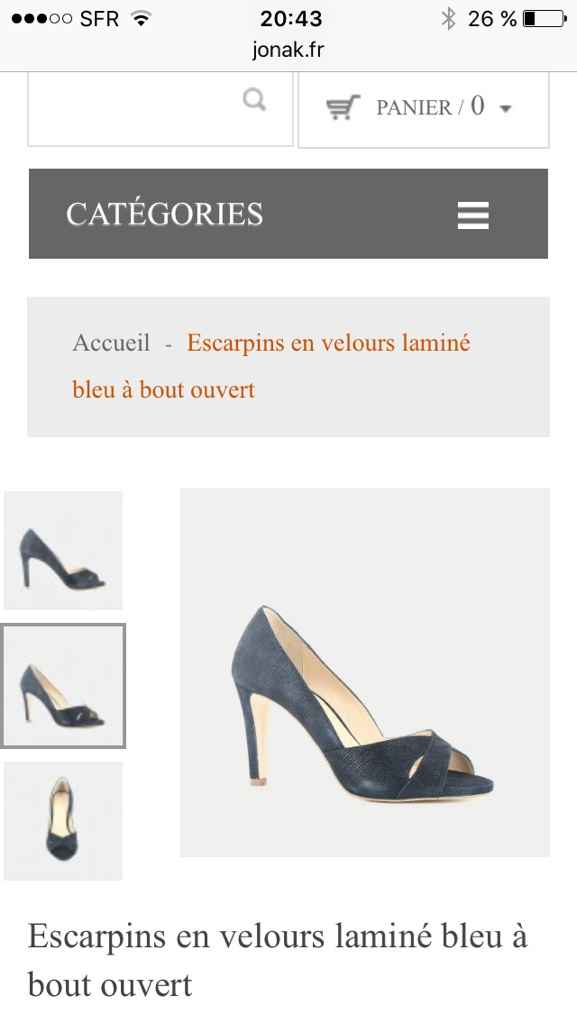 Dilemme chaussures - 1