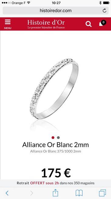 Vos alliances: Avec ou sans pierres précieuses? - 1