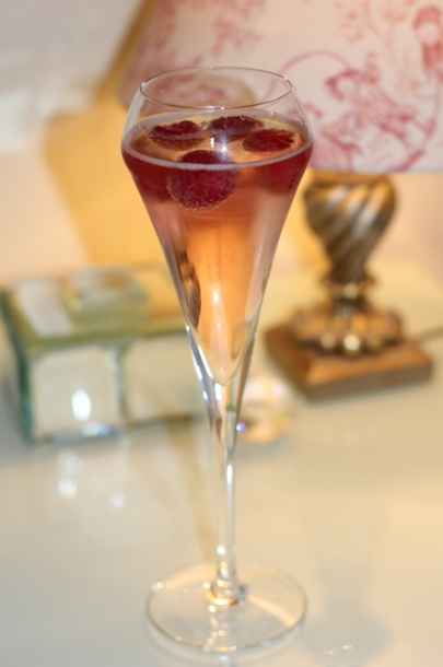 fruits champagne