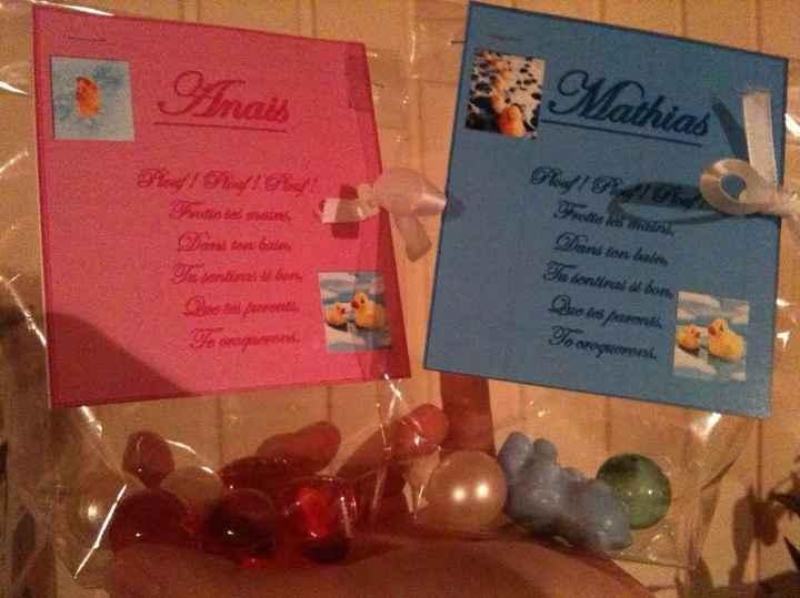 cadeaux bebes et invitées enfants