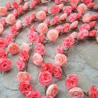 Guirlande de fleur crépon - 1
