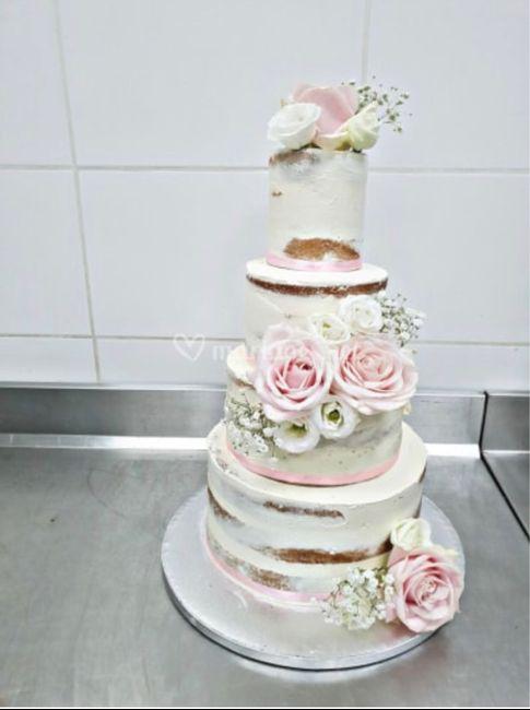 wedding cake ou naked cake ? - 1