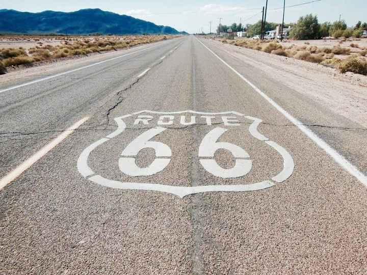 Route 66 - Ouest Américain