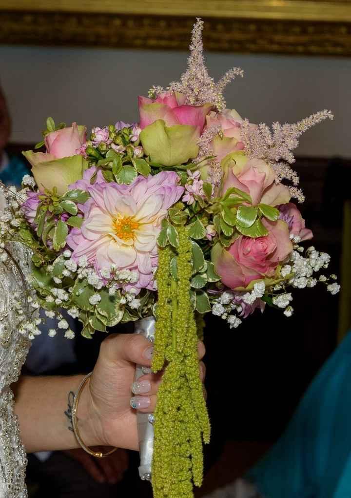 Bouquet mariage vintage