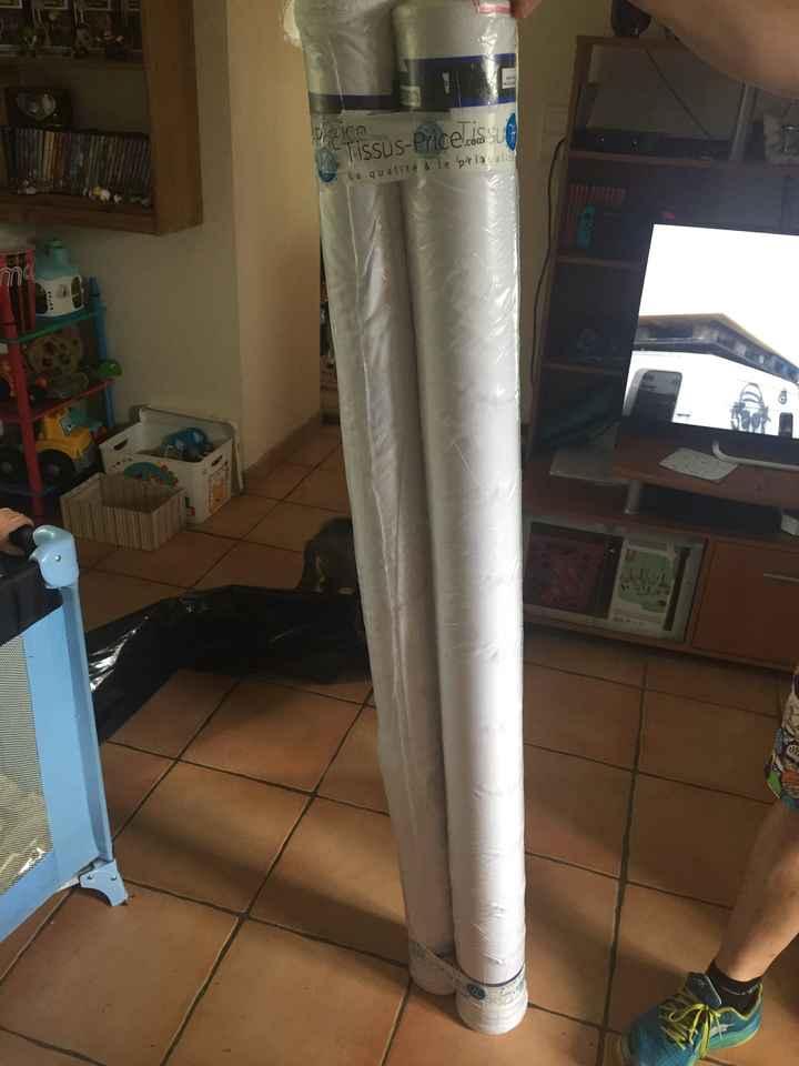 Tissu pour les nappes reçu - 2