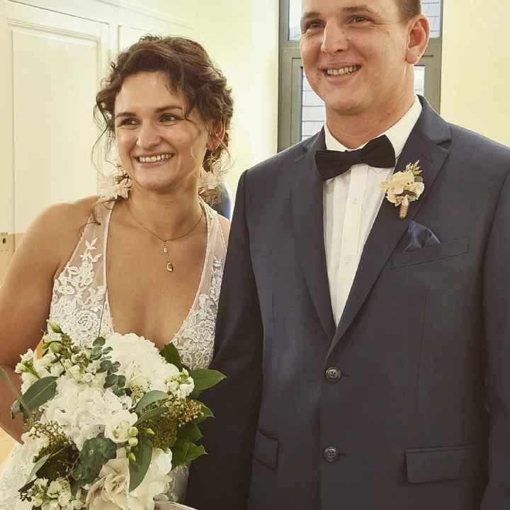 Mariés depuis le 24 octobre ! - 2