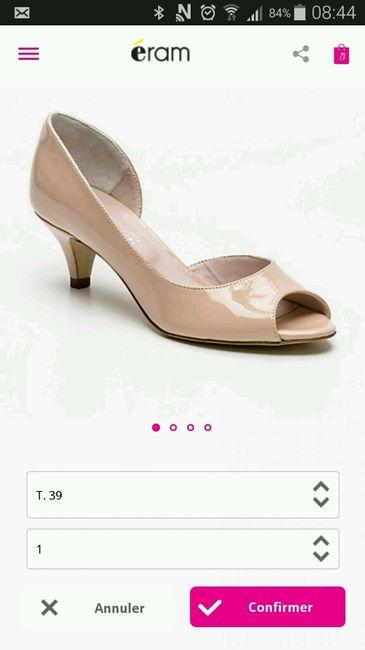 Chaussure quand pensez vous? - 1