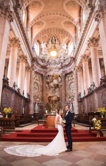 Notre mariage religieux - 1