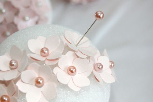 Boule de fleurs en papier cr pon page 2 d coration forum - Boule de fleur en papier crepon ...