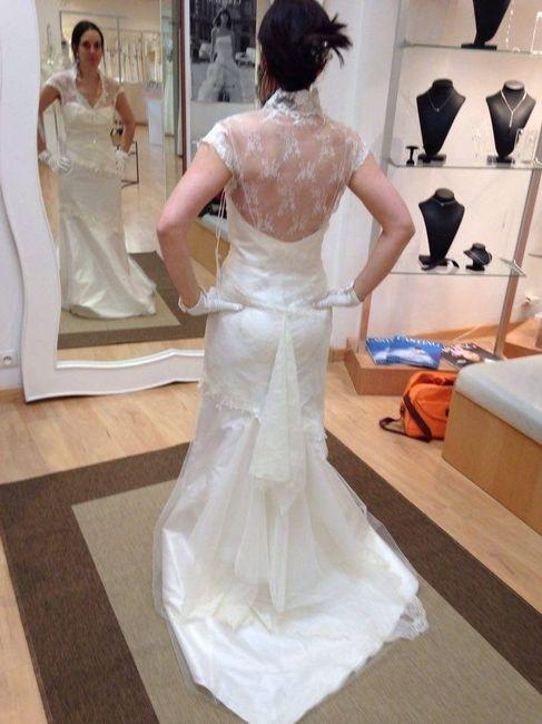 Ma robe de mariée