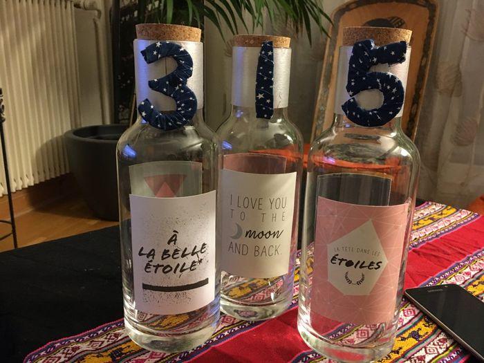 Nos bouteilles à vœux - 1