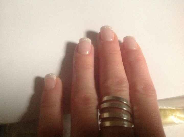 Mes ongles pour le jour j