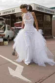 la mariée en pantalon