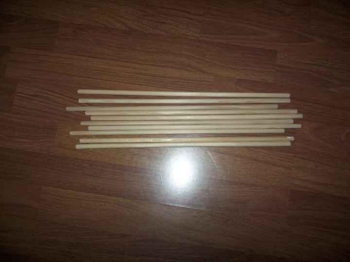bâton pour ruban sortie d'église
