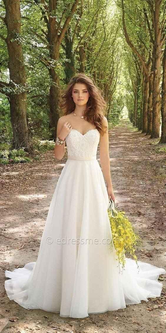 Inspiration robe de Mariée par Camille La Vie