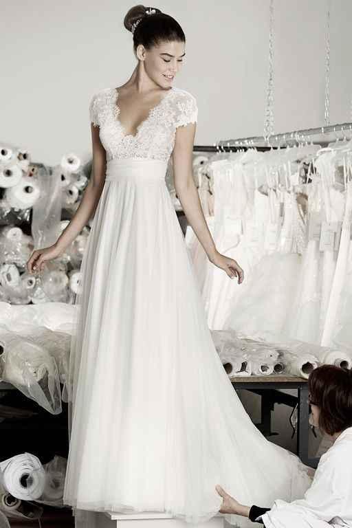 Inspiration robe de Mariée de Cymbeline