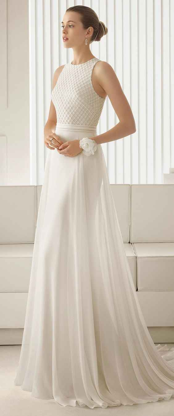 Inspiration mariage robe de Mariée Rosa Clara