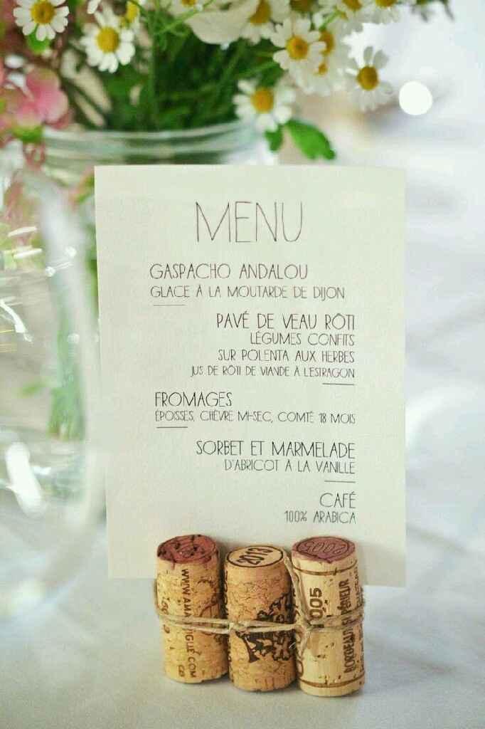 Présentation des menus - 1