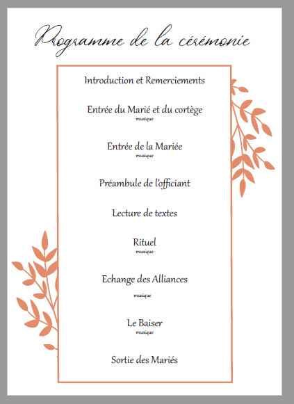 Livret cérémonie laïque - 2