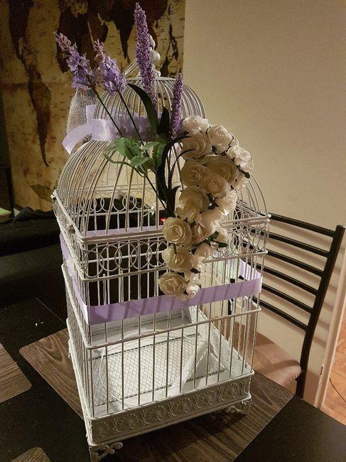 Mon urne cage oiseau d coration forum - Cage oiseau decorative interieur ...