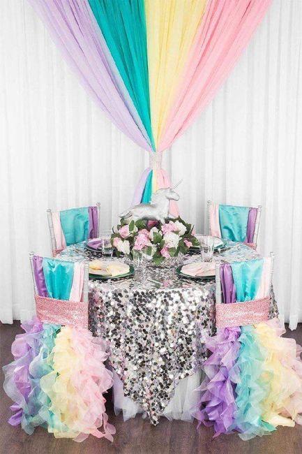 Inspirations mariage ... licorne 😁 1