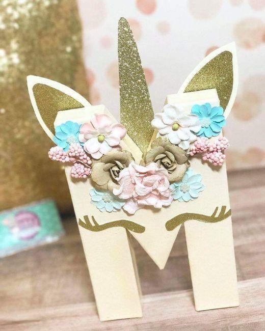 Inspirations mariage ... licorne 😁 9