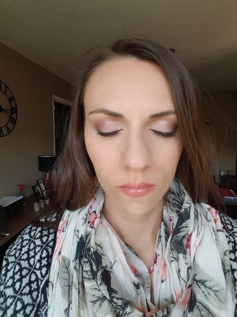Essai maquillage 😍💄 - 1