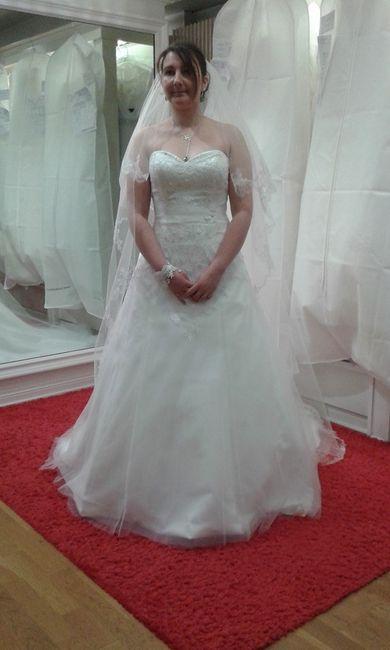 essais 2 avec ma robe (-5kg par rapport au premier essais)