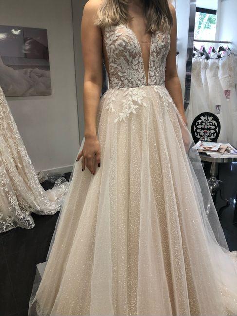 Essayages robe de mariée 1