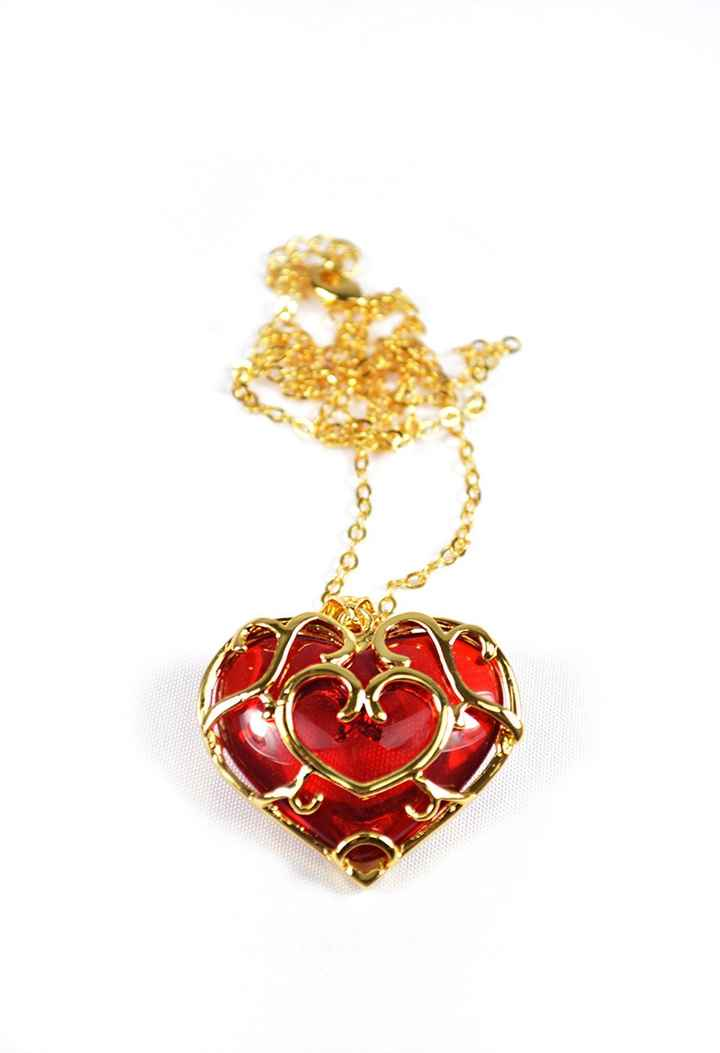 Collier skyward heart zelda