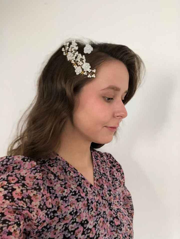 Essaie coiffure de mariée - 1