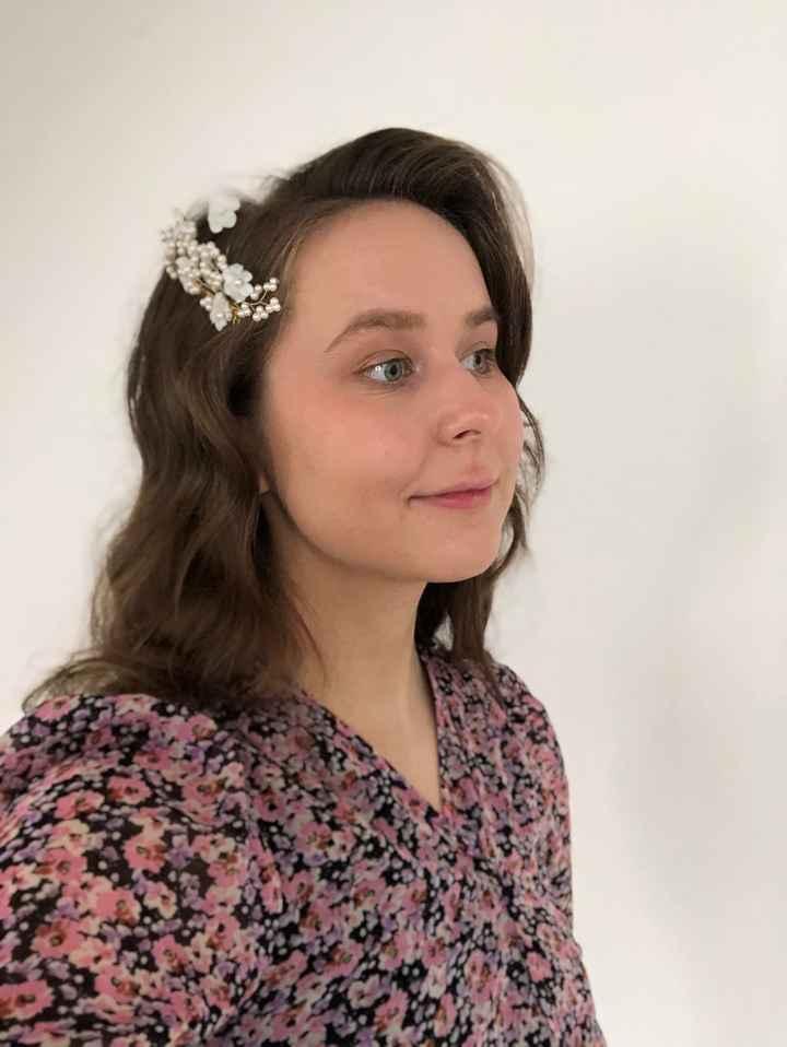 Essaie coiffure de mariée - 2