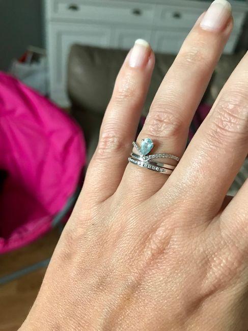 Bague de fiançailles et alliance 4