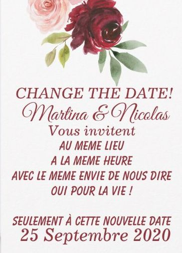 Idées Change the Date 5