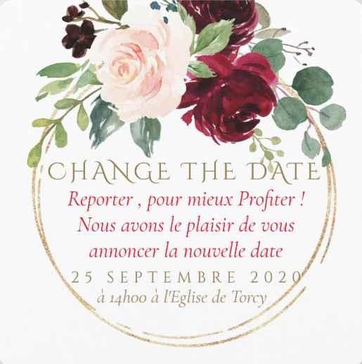 Idées Change the Date - 2