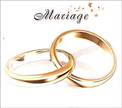 Le mariage, plus qu'un engagement.