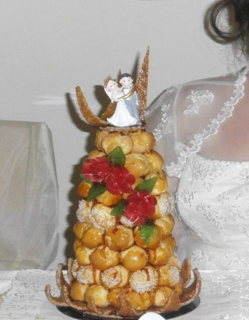 Wedding cake vs pièce montée  - 1