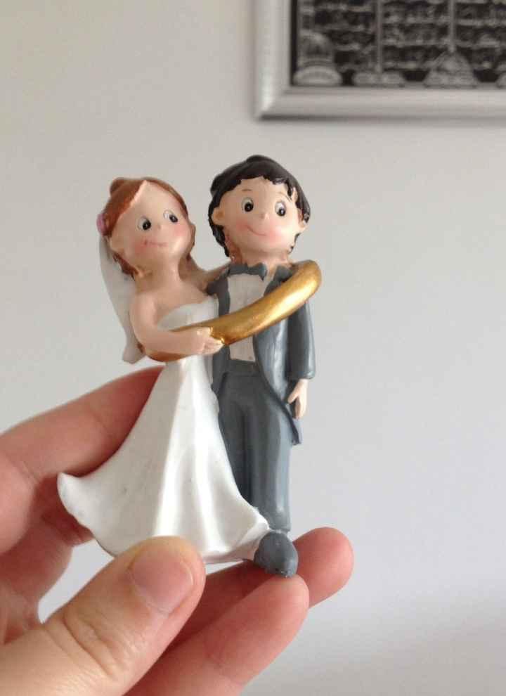 Quel sera votre figurine sur votre pièce montée? et ou l'avez-vous trouvé?  - 1