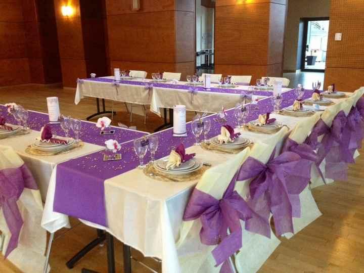 Votre plus belle photo de votre table de mariage - 1