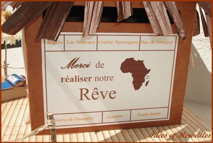 Maruage théme afrique - 8