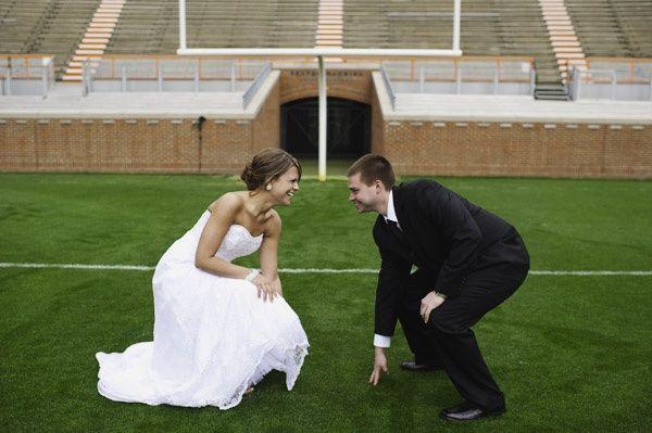 Mariage théme football - 1