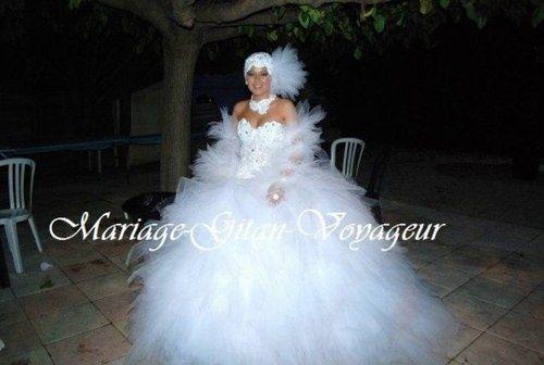 robe de mariage gitan