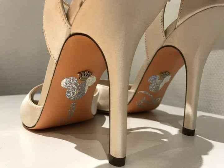 Nos chaussures personnalisés disney - 1