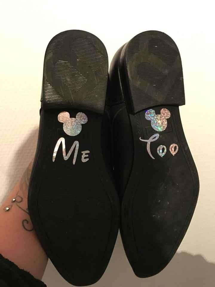 Nos chaussures personnalisés disney - 3